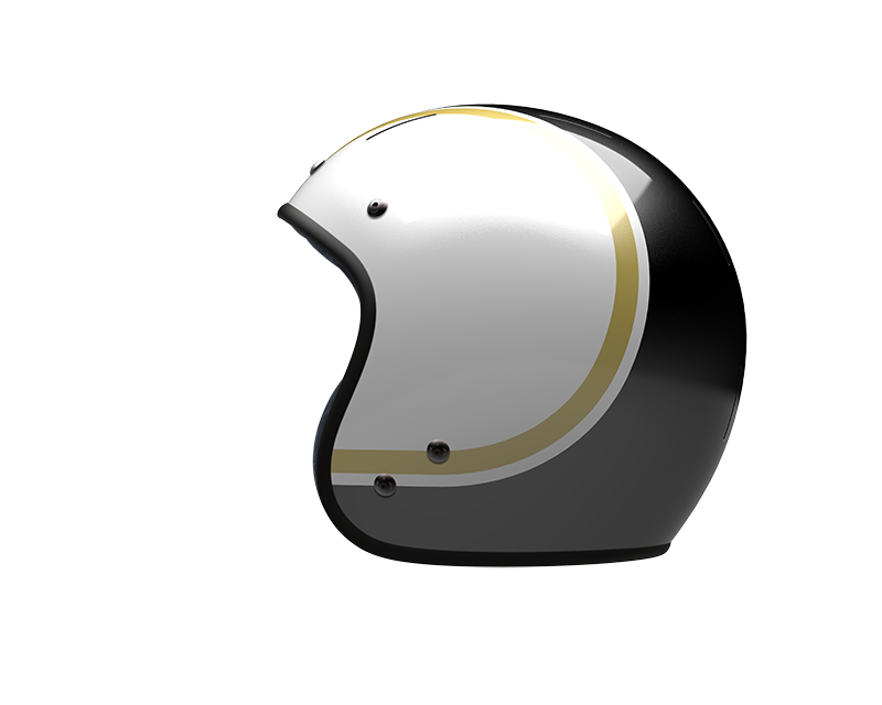 Gold Wave Black - jet